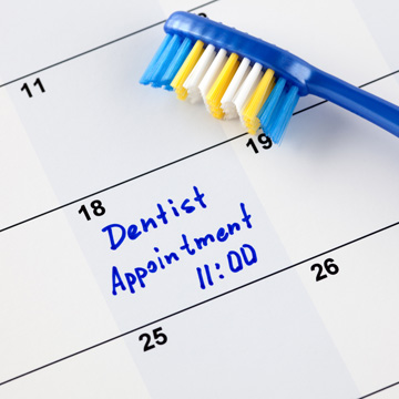 dentist appointment during covid